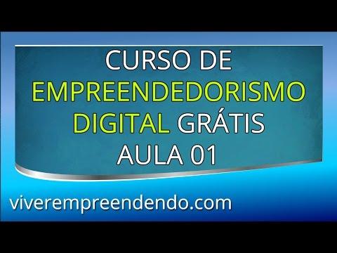 Curso de Empreendedorismo Digital GRÁTIS - AULA 01 de 06 - Visão Geral
