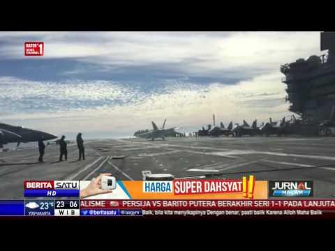 Pesawat Tempur Milik AS Jatuh di Laut Sulawesi