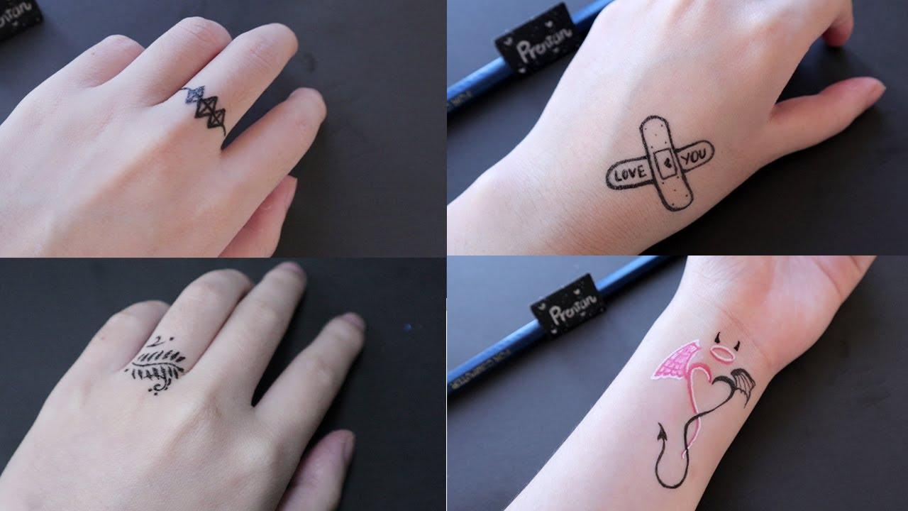 Những hình xăm được vẽ bằng bút bi đơn giản(P10) – How to make tattoo at home with pen | Tất tần tật những thông tin về hình xăm đơn giản đẹp chi tiết nhất