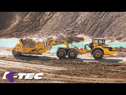 Scraper Excavation In A Texas Sand Mine Paradise