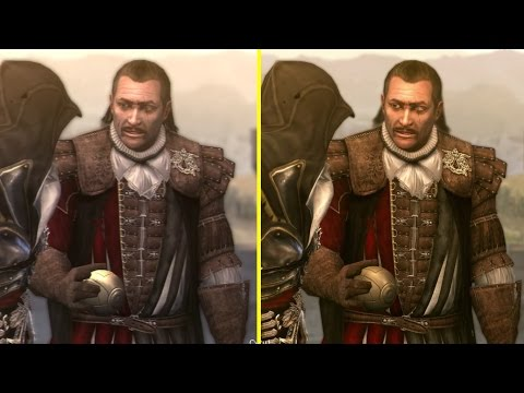 Assassin S Creed Brotherhood The Ezio Collection Ps4 Vs Ps3