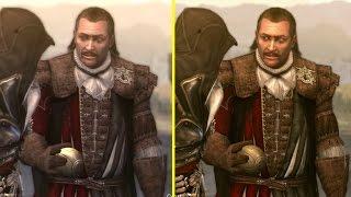 Скачать Assassin S Creed Brotherhood The Ezio Collection PS4 Vs PS3 Graphics Comparison