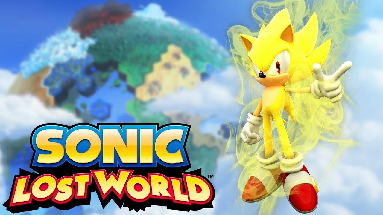 VISÃO GERAL: Super Sonic - Sonic Lost World (Pt-Br) - Wii U - CJBr