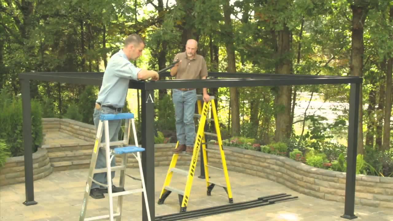 Lowes Gazebo Installation Video