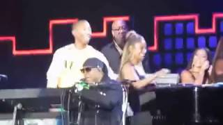 Pharrell Williams/Stevie Wonder complete SUPERSTITION duet at Global Citizen Festival 2017