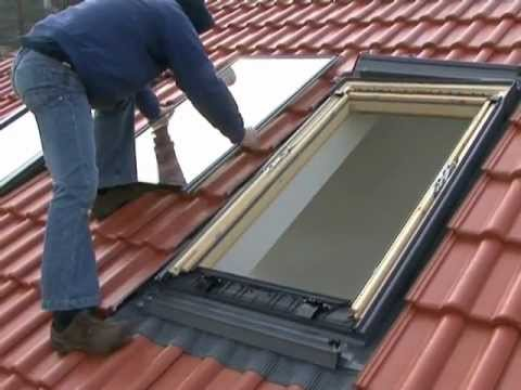 demonteren beglazing velux dakraam met standaard. Black Bedroom Furniture Sets. Home Design Ideas