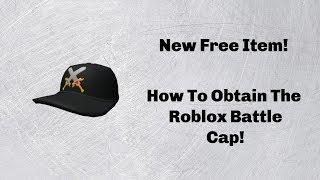 Roblox time-novo item grátis-como obter o Roblox Battle Cap!