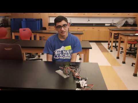 Netanel's First Milestone - Gesture-controlled Robot