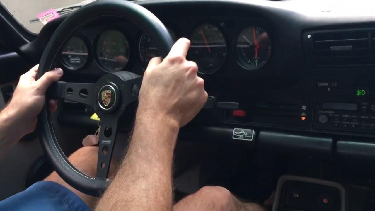 '88 Porsche 911 Cabriolet Drive