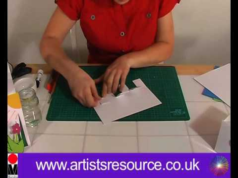 Make A Pop Up Greetings Card Card Making Project Art