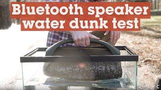 JBL Boombox and Kicker Bullfrog water dunk test | Crutchfield video