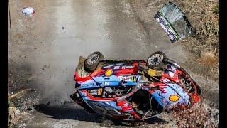 Compilation accidents WRC - COPEC Rally Chile, 2019