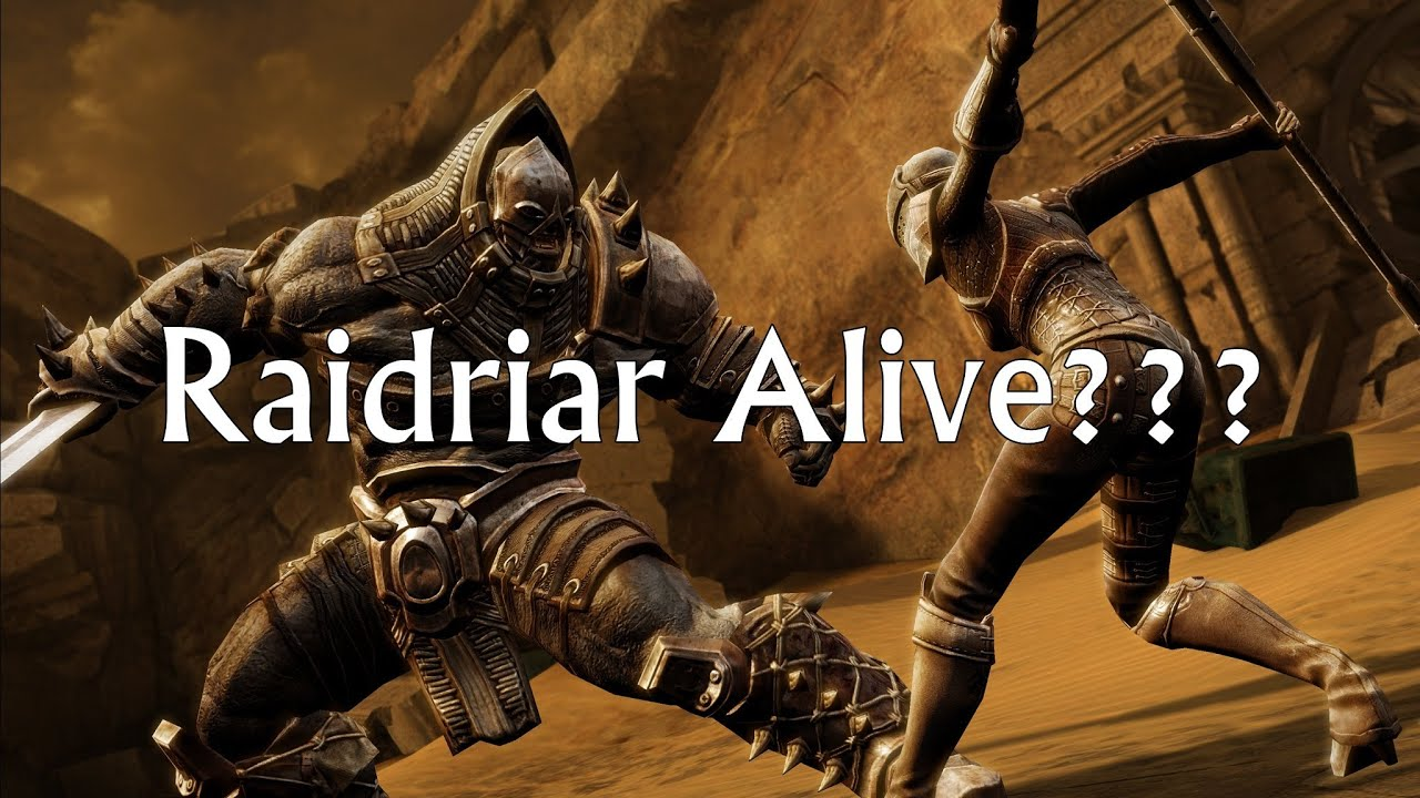 Infinity Blade 3 Raidriar Alive Youtube