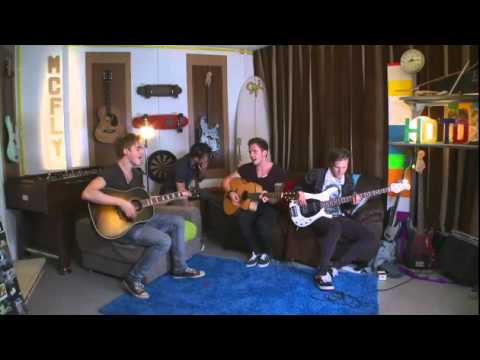 McFly On The Wall Extras - All About You (Session)