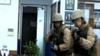 Elite military police Marines conduct training in Okinawa