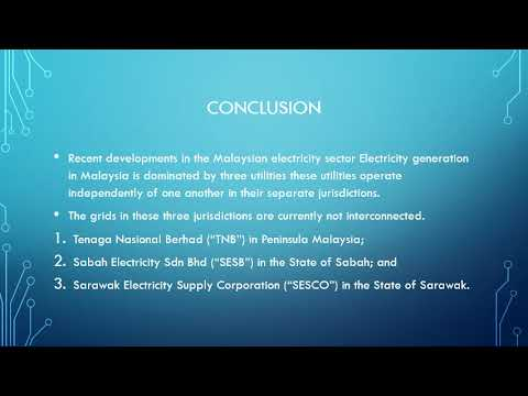 Introduction of local MALAYSIA electrical power