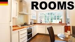Lernen Sie englisch vokabeln - Räume im Haus (Rooms)