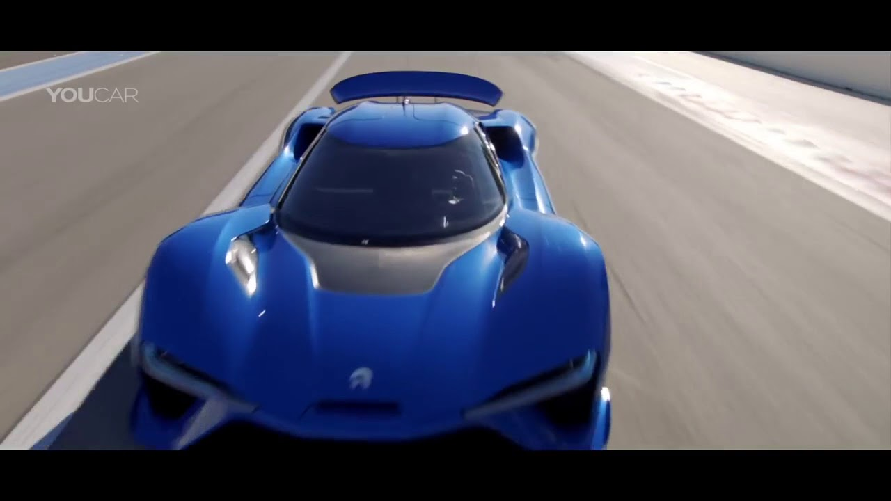 1 360 Hp Nio Ep9 The World S Fastest Electric Car Megawatt Of