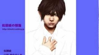 山田涼介さんの似顔絵を描いている途中、行程をとり貯めてFLASHムービー...