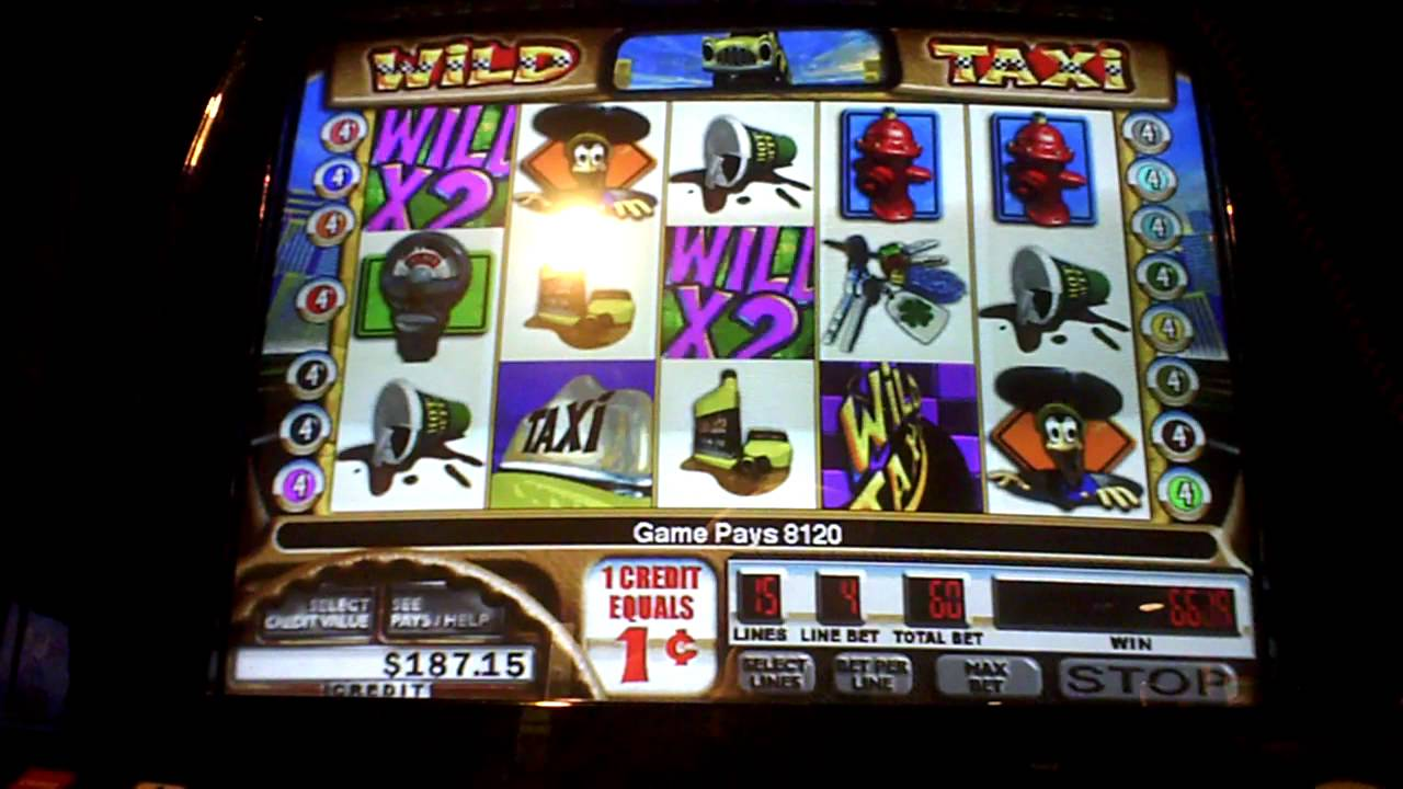 Wild Taxi Slot Machine