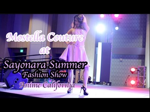 Anime California Fashion Show: Mostella Couture