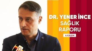 Kulüp Doktorumuz Yener İnce'den Falcao, Şener Özbayraklı ve Emre Akbaba Açıklaması