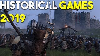 Top 10 HISTORICAL Games COMING in 2019!