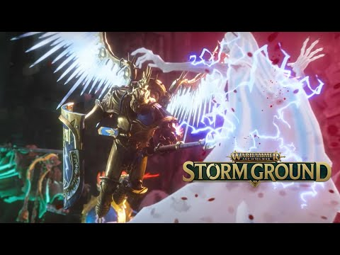 Warhammer Age of Sigmar: Storm Ground - Official 16 Minutes of Gameplay |