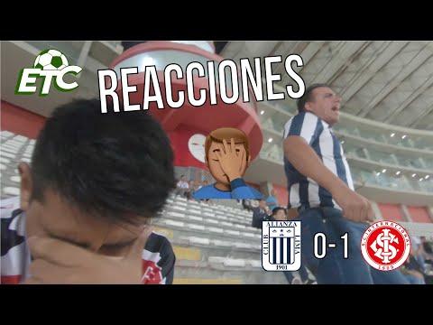 Reacciones: Alianza Lima 0 vs 1 Internacional de Porto Alegre | Copa Libertadores