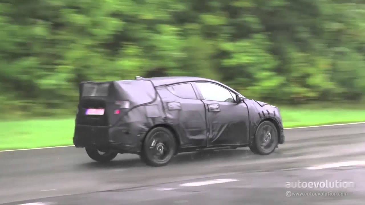 2017 Toyota CH-R Crossover Testing in Germany - YouTube