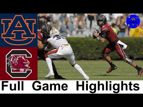 #15 Auburn vs South Carolina Highlights | College Football Week 7 | 2020 College Football Highlights