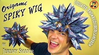 Origami Spiky Wig