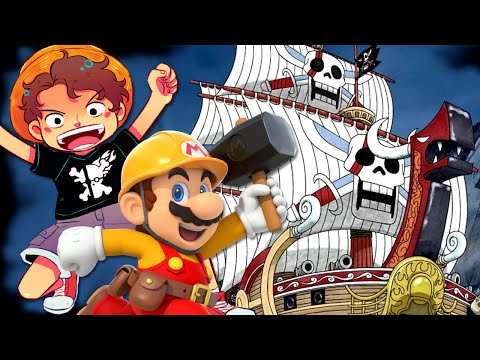 Building Red Force (Red Hair Pirates Ship) w/ RogersBase! Surprise Shanks One Piece Livestream!