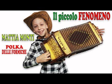 IL PICCOLO FENOMENO DELL'ORGANETTO Mattia Monti esegue POLKA DELLE FORMICHE conTECNICA A CINQUE DITA