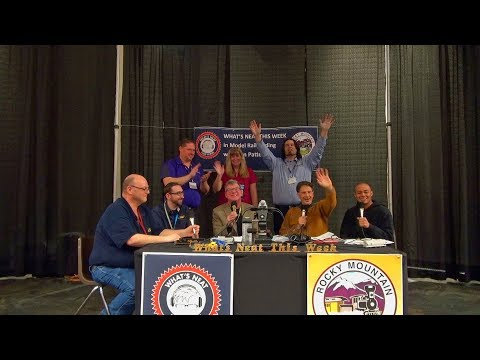 What's Neat This Week in Model Railroading Show #67 Rocky Mountain Train Show February 2nd 2019