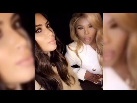 Kim Kardashian Carpool Karaoke With Lil' Kim!