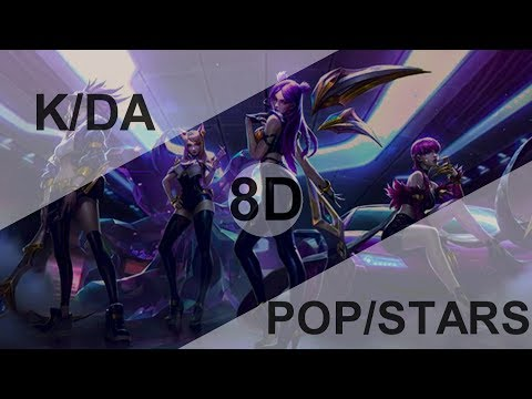 K/DA - POP/STARS (ft MADISON BEER, (G)I-DLE, JAIRA BURNS) [8D USE HEADPHONE] 🎧