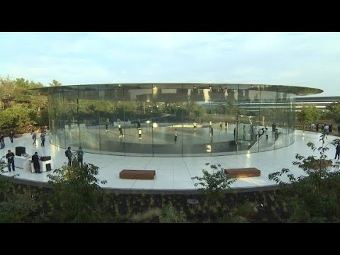 First look inside Apple's Steve Jobs Theater