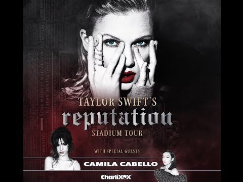 Taylor Swift Reputation Tour Seattle Featuring Charli XCX | Center Snake Pit