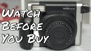 WATCH BEFORE YOU BUY - Fujifilm Instax Wide 300