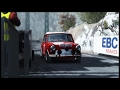 Mini Cooper S Historic Car 1960  - Col Du Turini - [HD] Rallye Monte Carlo - Dirt Rally .