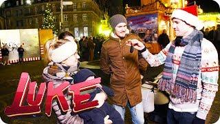 Weihnachtsmann mit heißem Schlitten - LUKE! Die Woche und ich