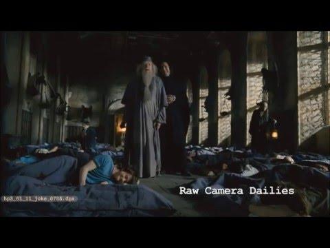 Alan Rickman and Michael Gambon prank Daniel Radcliffe (Harry Potter 3)