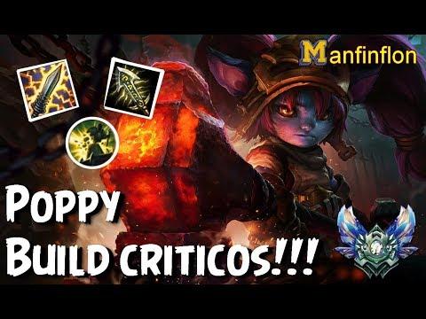 Poppy vs Darius top | Poppy build de criticos!! | Best yasuo in the world