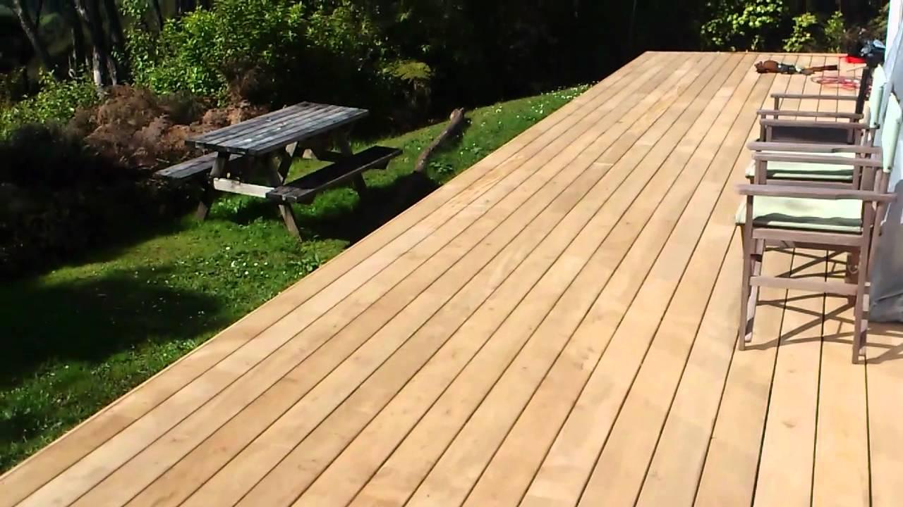 large deck vitex with hidden nailing system waitakere. Black Bedroom Furniture Sets. Home Design Ideas