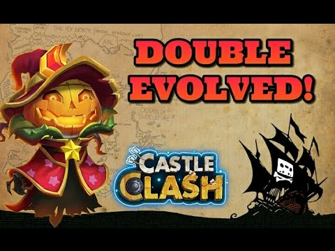 Castle Clash Finally Double Evolving Pumpkin Duke!