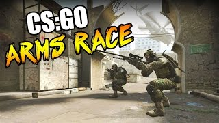 CSGO: Arms Race w/The Pack & Friends (Counter Strike Go)