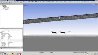 Видеоурок CADFEM VL1133 - Моделирование течения метана в трубопроводе с диафрагмой в ANSYS Fluent