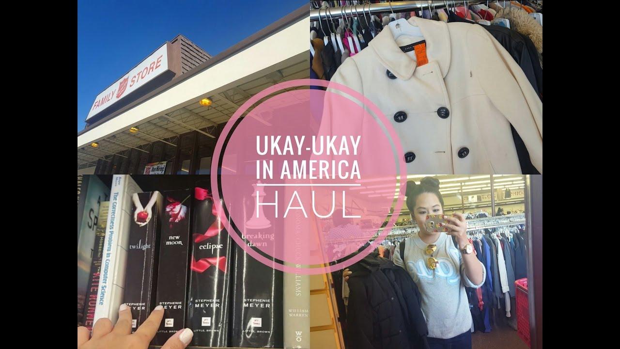 UKAY-UKAY IN AMERICA HAUL (Thrift Store Shopping)
