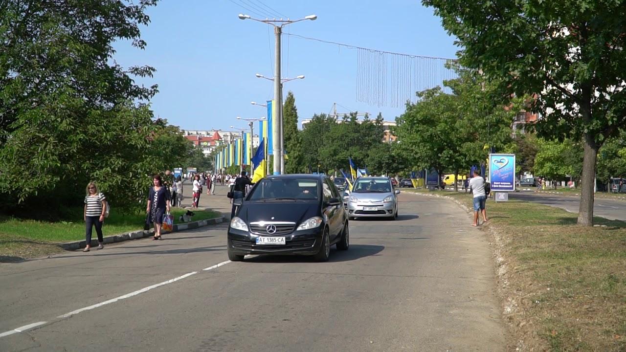 Байкери очолили автопробіг до Дня Незалежності в Калуші (фото+відео)